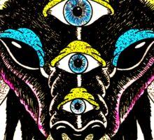5 Eyes of the Devil Sticker