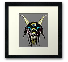 5 Eyes of the Devil Framed Print