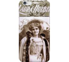 Performing Arts Posters Burrill Comedy Co 1895 iPhone Case/Skin