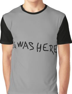 SG WAS HERE Graphic T-Shirt