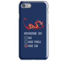 Dishonor! iPhone Case/Skin