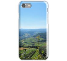 Switzerland Landscape - Mountains, Trees, Valley iPhone Case/Skin