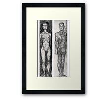 Adam & Eve Framed Print