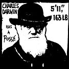 Charles Darwin Has A Posse by colinpurrington
