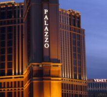 Palazzo Las Vegas Sticker