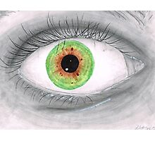 Semi Realistic Eye Photographic Print