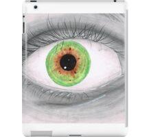 Semi Realistic Eye iPad Case/Skin