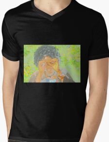 """Colourful Abstract - """"See You"""" Mens V-Neck T-Shirt"""
