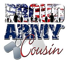 Proud Army Cousin Photographic Print