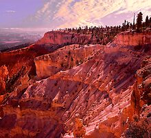Sunrise At Bryce Canyon by Nancy Richard
