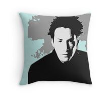 Matrix in Colors Throw Pillow
