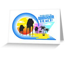 Welcome to Walker Beach Greeting Card