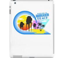 Welcome to Walker Beach iPad Case/Skin