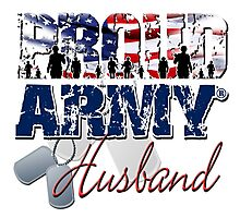 Proud Army Husband Photographic Print