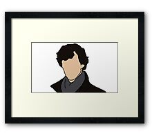 Cartoon Sherlock Framed Print