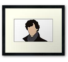 Cartoon Sherlock Framed Print