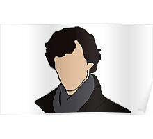 Cartoon Sherlock Poster