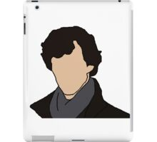 Cartoon Sherlock iPad Case/Skin
