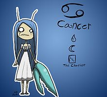 Astrology - Cancer by OddworldArt