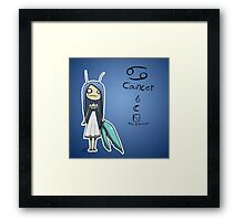 Astrology - Cancer Framed Print