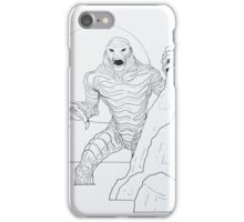 Creature From The Lagoon iPhone Case/Skin