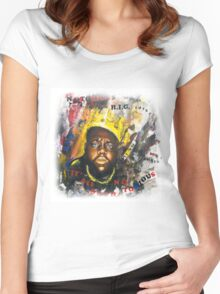 Biggie Tribute Women's Fitted Scoop T-Shirt