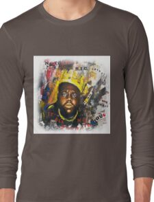 Biggie Tribute Long Sleeve T-Shirt