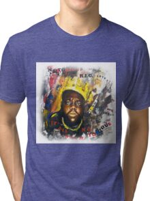 Biggie Tribute Tri-blend T-Shirt
