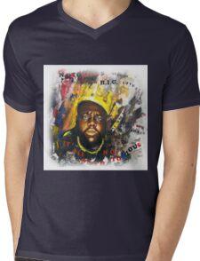 Biggie Tribute Mens V-Neck T-Shirt