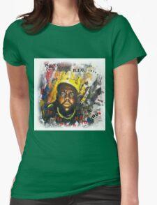 Biggie Tribute Womens Fitted T-Shirt