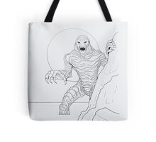 Creature From The Lagoon Tote Bag