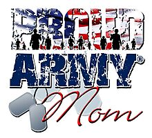 Proud Army Mom Photographic Print