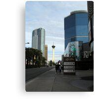 Las Vegas North Strip Canvas Print