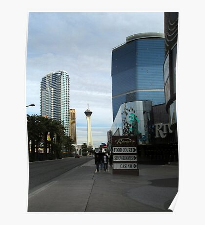 Las Vegas North Strip Poster