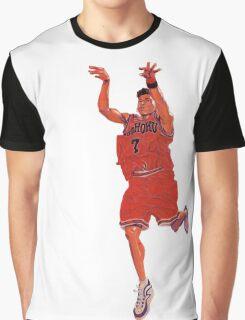 Miyagi - Slam Dunk Graphic T-Shirt