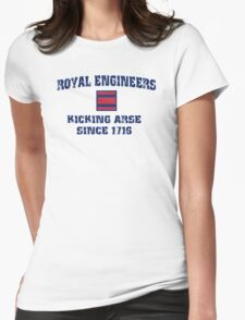 Royal Engineers. Kick Arse since 1716 Womens Fitted T-Shirt
