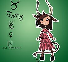 Astrology - Taurus by OddworldArt