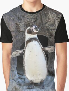 Look at Me Penguin Graphic T-Shirt