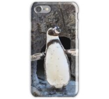 Look at Me Penguin iPhone Case/Skin