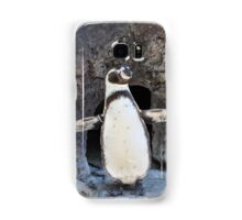 Look at Me Penguin Samsung Galaxy Case/Skin
