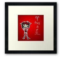 Astrology - Aries Framed Print