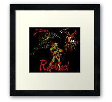 3 X Raphael Framed Print