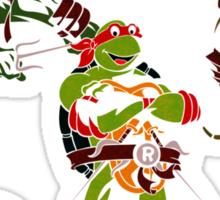 3 X Raphael Sticker