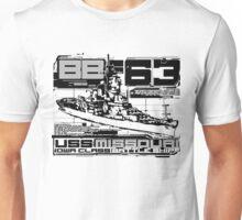 Battleship Missouri Unisex T-Shirt