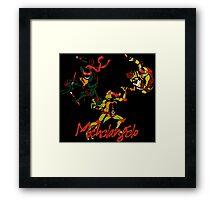 3 X Michelangelo Framed Print