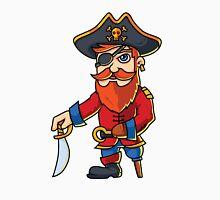 Wooden One Leg Eye Patch Hook Sword Pirate  Classic T-Shirt