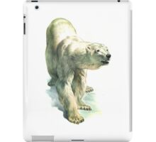 Original Vintage Polar Bear Illustration iPad Case/Skin