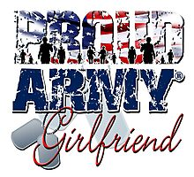 Proud Army Girlfriend Photographic Print
