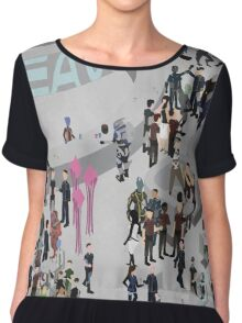 Mass Effect: Bar in Heaven (Maleshep) Chiffon Top
