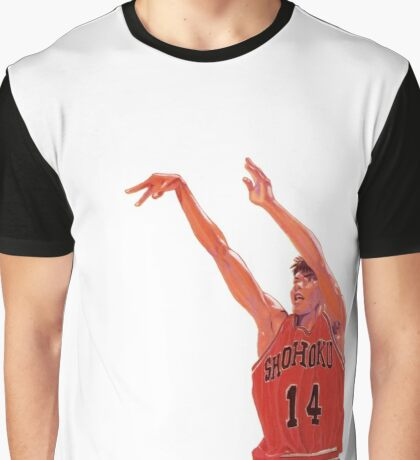 Mitsui - Slam Dunk Graphic T-Shirt